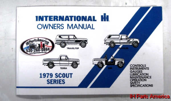 Owners manual for international harvester vehicles scout pickup owners manual for international harvester vehicles scout pickup travelall ss2 publicscrutiny Choice Image