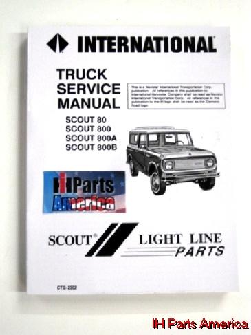 service manual for 1961 71 scout 80 scout 800 800a 800b ih rh ihpartsamerica com scout 800 service manual pdf Scout 800 Radio