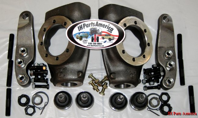 PartsMike Scout Hysteer Kit w/ Forged Arms for Dana 44 Front Axle