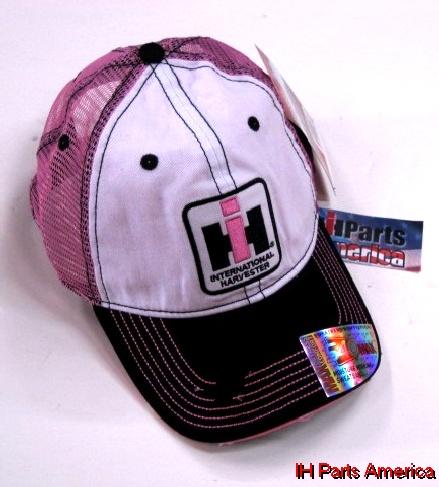 6ca7cf93bae Women s Two Tone Distressed Trucker Cap - IH Parts America