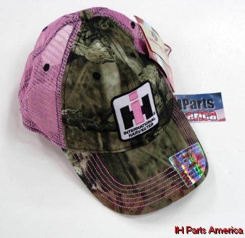 0a5fd576 Women's Distressed Licensed Camo Trucker Cap - IH Parts America