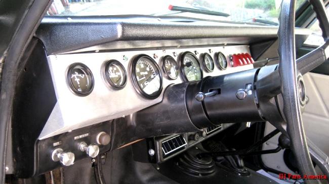 Cpt Aluminum Dash Panel Amp Gauge Kit 1971 80 Scout Ii
