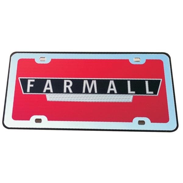 Farmall Mirror License Plate Ih Parts America
