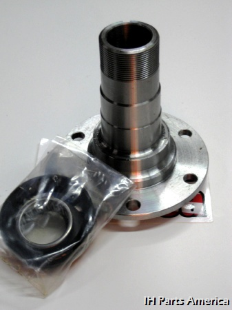 six bolt spindle for dana 30 dana 44 open knuckle includes