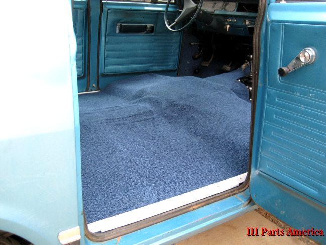 Replacement Carpet Kit for 1969-75 D Series Pickup, Travelette & Travelall - IH Parts America