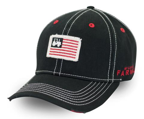 Farmall American Flag Patch Cap