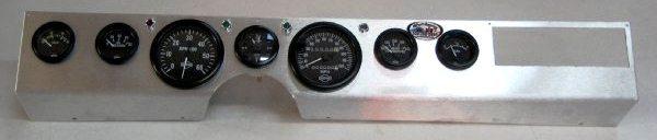 Cpt Aluminum Dash Panel  U0026 Gauge Kit For 1971