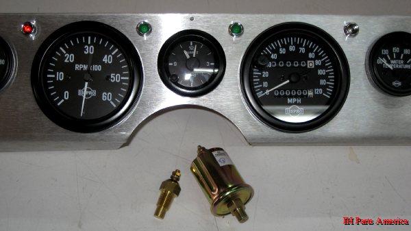 Cpt Aluminum Dash Panel  U0026 Gauge Kit 1971