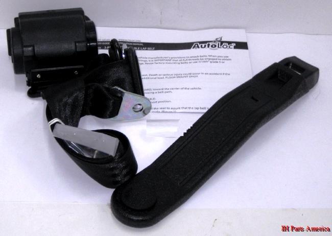 AutoLoc 3-Point Retractable Seat Belt Harness