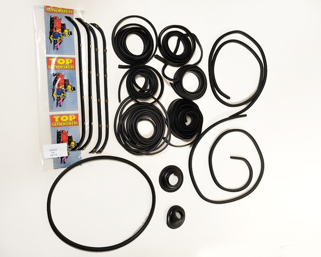 1940-1949 KB 1-5 Series International Truck Rubber Kit