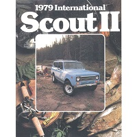 sales brochure for 1979 ih international harvester scout ii