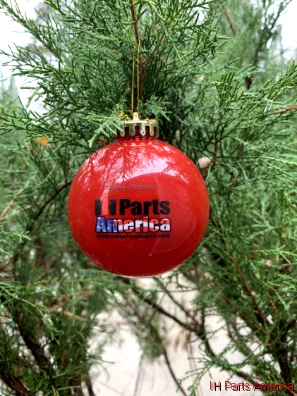 Ih Parts America Round Globe Christmas Tree Ornament