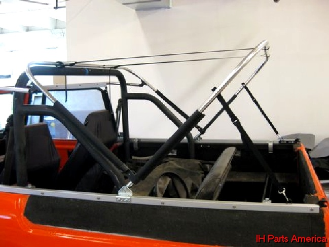 Softopper Brand Convertible Soft Top Kit For 1961 71 Scout