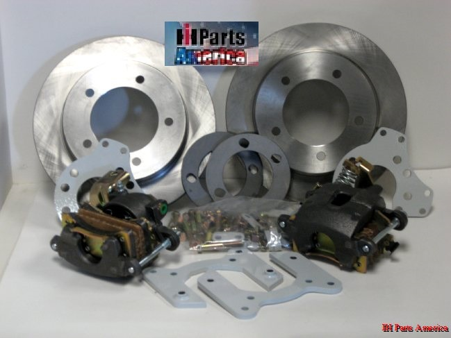 Rear Disc Brake Kit for 71-80 Scout II, Terra or Traveler - Also Fits Some  Scout 800 & IH Pickup