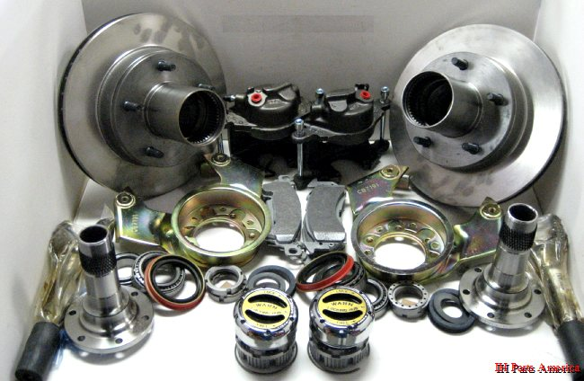 gm   ford style disc brake conversion kit for scout ii  terra or traveler dana 44 front axle Scout Yacht 2 2 Half Cab Scout