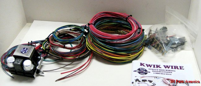 kwikwire 14 circuit universal vehicle wiring kit ih parts america rh ihpartsamerica com 1977 scout ii wiring harness international scout 800 wiring harness
