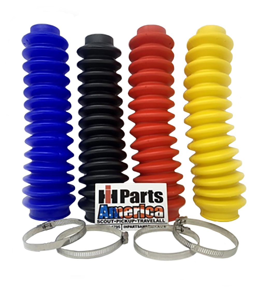Aftermarket Orange Shock Absorber Boot Cover JSP Brand Replaces ROU-87172 Rough Country Lifted 4x4 ORV Universal