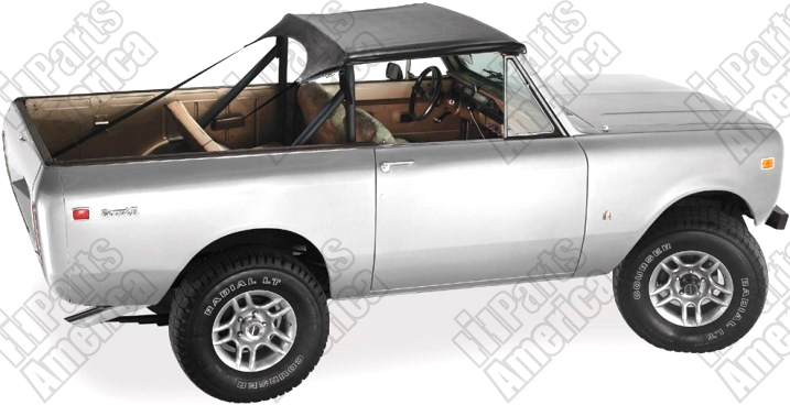Wiring Harnes Main Under Dash For Scout 800 1966 To 68